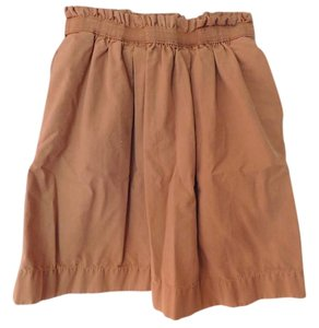 J.Crew City Mini Pockets Mini Skirt Khaki