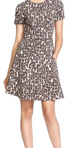 Kate Spade short dress leopard print on Tradesy