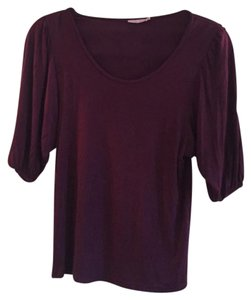 Calypso St. Barth Quarter Length Sleeves Top Purple