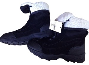 Other Suede Hiking Black Boots