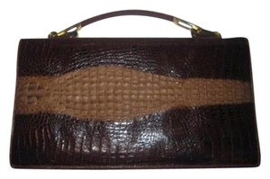 VENUS Mint Vintage Two-way Style shades of brown Clutch
