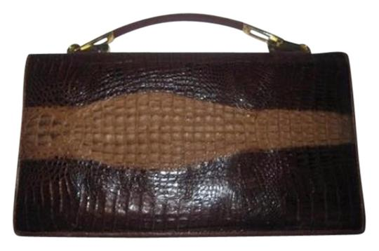 Preload https://item4.tradesy.com/images/venus-vintage-designer-pursesdesigner-purses-shades-of-brown-crocodilealligator-leather-clutch-18991708-0-1.jpg?width=440&height=440