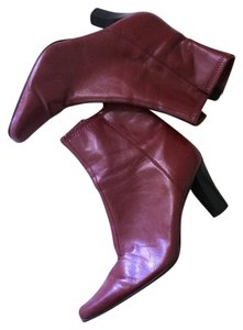 Burgandy Red Boots