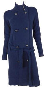 Vince Wool Belted Duster Sweater