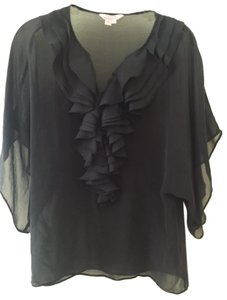Ted Baker Sheer Top Black