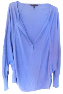 BCBGMAXAZRIA Bcbg Blue One Size Sweater