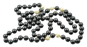 Other 14K Black Onyx Beaded 32