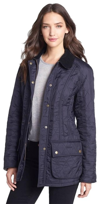 Preload https://item4.tradesy.com/images/barbour-navy-blue-beadnell-quilted-spring-jacket-size-4-s-18992308-0-3.jpg?width=400&height=650