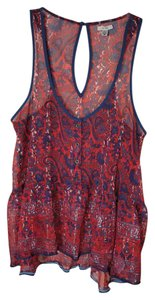 Ecote Top Red
