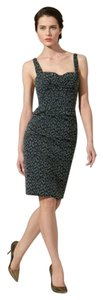 Zac Posen Leopard Retro Dress