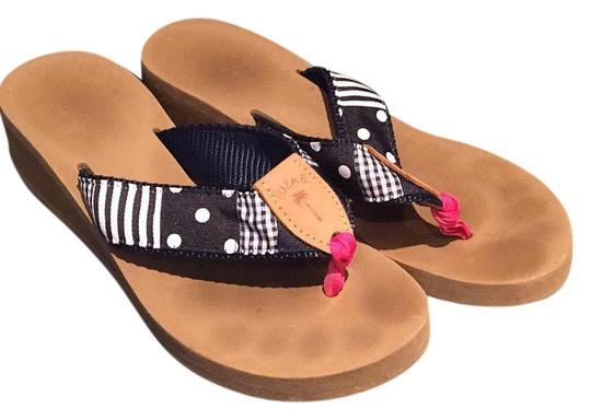 Preload https://item1.tradesy.com/images/eliza-b-navy-and-brown-sandals-size-us-10-regular-m-b-18992680-0-1.jpg?width=440&height=440