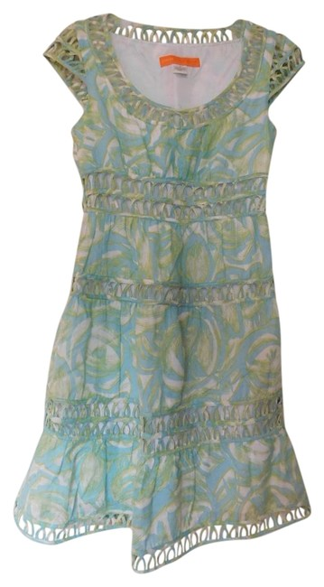 Preload https://item3.tradesy.com/images/cynthia-steffe-green-and-blue-mid-length-workoffice-dress-size-2-xs-18992722-0-1.jpg?width=400&height=650