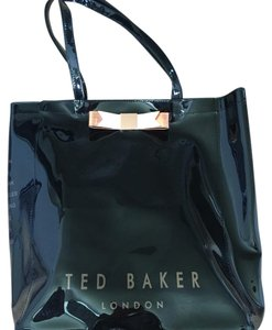 Ted Baker Rose Gold Bow Tote in Black