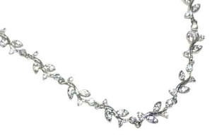 Nadri Nadri Nouveau Vine Brilliant Necklace Swarovski Crystals