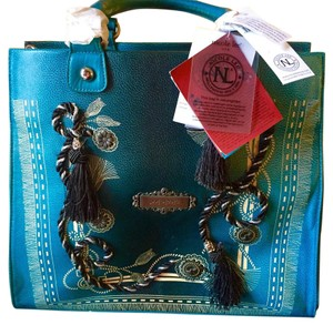 Nicole Lee Satchel in blue