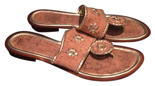 Preload https://item3.tradesy.com/images/brown-and-gold-sandals-size-us-10-regular-m-b-18992917-0-1.jpg?width=440&height=440