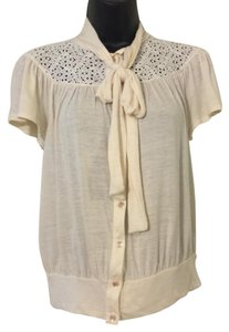 Love Culture Button Down Shirt Cream