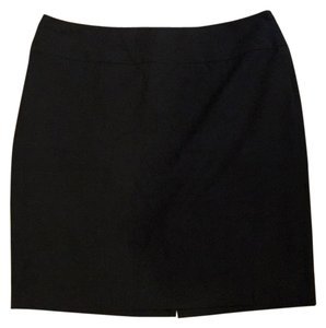 The Limited Black Wide Waistband Pencil Skirt