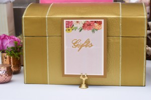 Custom Gold Card Box