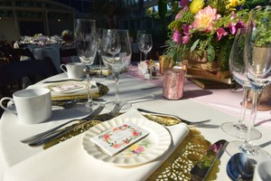 12-inch Round Gold Placemats (36)
