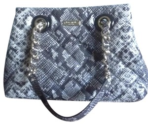 Kate Spade Satchel in Black Python Print