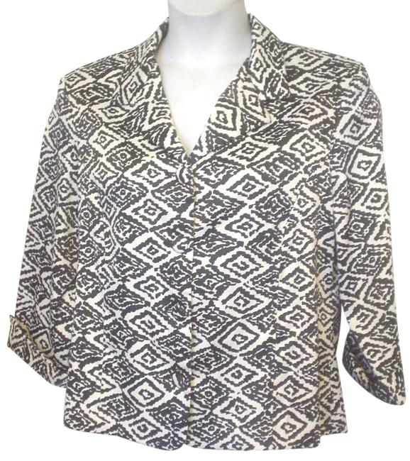 Preload https://img-static.tradesy.com/item/18993355/dressbarn-multi-color-black-white-diamond-abstract-silky-feel-shirt-18w-20w-blouse-size-22-plus-2x-0-1-650-650.jpg