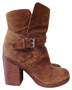 Sam Edelman Leather Bootie Casual Brown Boots