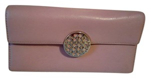 Coach Alexandra Leather Wristlet Clutch Wallet