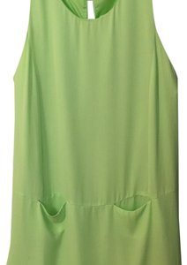 ASTR short dress Lime green on Tradesy