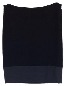 Theory Skirt Black And Grey