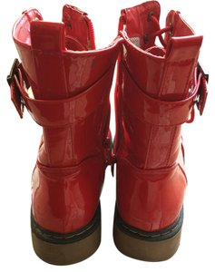 Forever 21 Bright red Boots