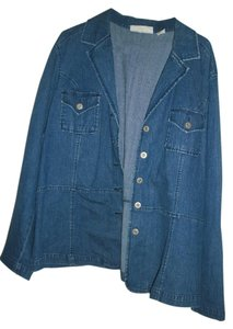 Sag Harbor blue Womens Jean Jacket