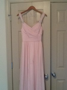 Mori Lee Blush Pink Dress