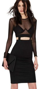 Nasty Gal Sheer Two Piece Dress