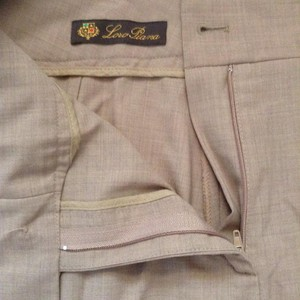 Loro Piana Straight Pants Beige