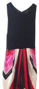 Pink, Black & White Bubble Dress Maxi Dress by Alice + Olivia