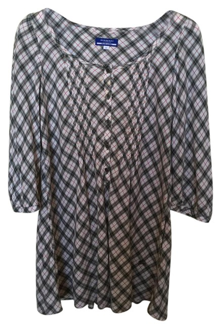 Preload https://item3.tradesy.com/images/burberry-blue-label-white-long-sleeve-blouse-size-8-m-18997042-0-2.jpg?width=400&height=650