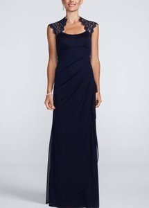 Xscape Navy Xs4667 Dress