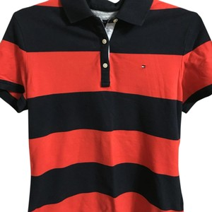 Tommy Hilfiger T Shirt Navy Blue/Red