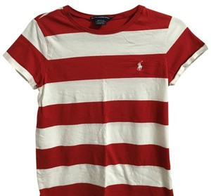Polo Ralph Lauren T Shirt White/Red