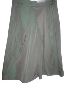 Max Mara Excellent Vintage Skirt iridescent green/purple