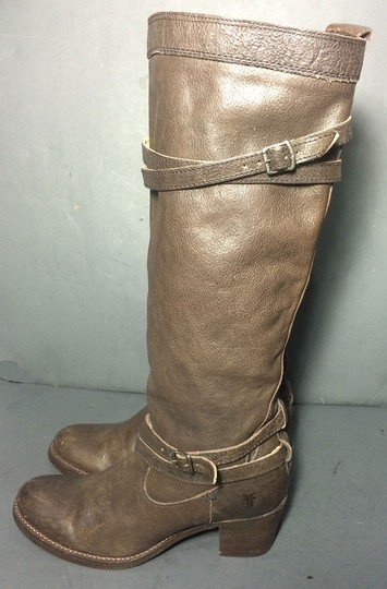 Frye 76396 Jane Strappy 7.5 Size 7.5 Brown Boots
