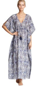 Blue Maxi Dress by Tory Burch Alice + Olivia Haute Hippie Dvf Isabel Marant Mara Hoffman