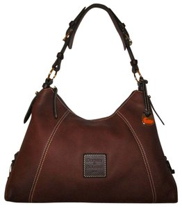 Dooney & Bourke Leather Tote in Brown