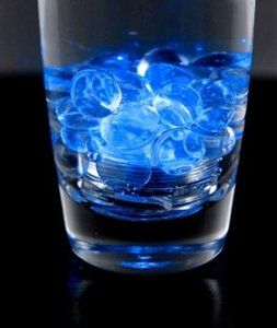 Blue 24 Led Submersible Lights Candles Reception Decoration