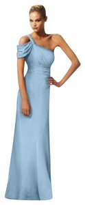 Bari Jay Misty Blue Bella Chiffon Dress