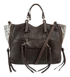 Kooba Gold Hardware Leather Shoulder Bag