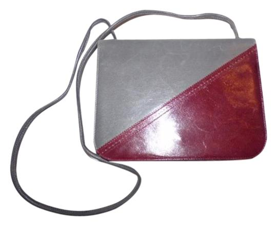 Preload https://img-static.tradesy.com/item/18997966/bally-vintage-pursesdesigner-purses-grey-and-burgundy-leather-shoulder-bag-0-1-540-540.jpg