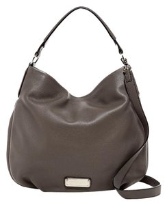 Marc by Marc Jacobs Q Hiller Pebbled Leather Hobo Bag