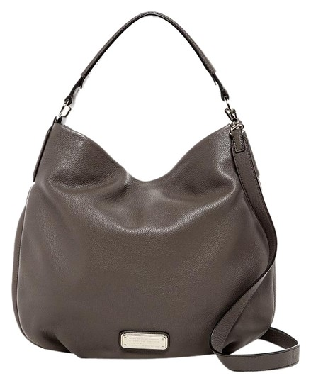 Preload https://img-static.tradesy.com/item/18998329/marc-by-marc-jacobs-new-q-hillier-faded-aluminum-leather-hobo-bag-0-1-540-540.jpg